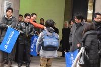 【中学受験2016】東京・神奈川で中学入試スタート…進学塾が受験生を激励 画像