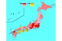 【インフルエンザ15-16】患者急増、275の保健所地域で警報レベル超え