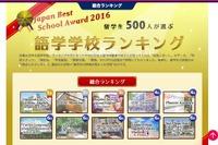日本人留学生500人が選ぶ「海外語学学校ランキング」発表
