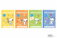 分割目印つき小中学生向け英習帳…スヌーピーの表紙で登場 画像