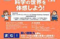 高1・2生募集、東京理科大「グローバルサイエンスキャンパス」