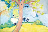 コロー、モネ、ピサロ、マティスら約110点を展示「樹をめぐる物語」