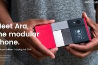 自分好みにカスタマイズ、Google組み立て式スマホ2017年発売