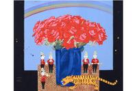世界各地のおもちゃがモチーフ、中島千波「画家のひみつ」展