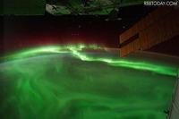 約100インチの大画面で生中継オーロラ映像を、20日から開催 画像