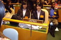 世界の高校生が激論、NYの模擬国連国際大会に実践女子が参加 画像