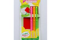 女子中高生に人気のカラーペンに暗記用赤シート付き限定パック 画像