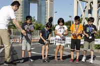 実験は大成功、小学生が仮想PHVに挑戦…夏休み自由研究(走行篇) 画像