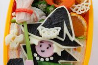 【宮澤真理のキャラ弁】魔女とお化けで、かわいいハロウィン 画像