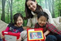 【韓国スマートママ 2/3】タブレットPC向け学習アプリ+本の組合せが人気 画像