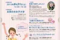 女子中高生のためのサイエンスフェス「理系女子でいこう!」8/31お茶大で開催 画像