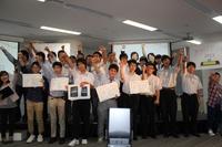 アプリ甲子園 2013、優勝者は渋幕の浅部佑さん…身近な音を使ったゲームアプリ 画像