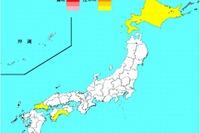 【インフルエンザ2013】35都道府県で増加、最多は山口県 画像