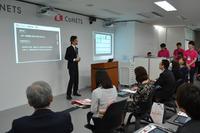 【EDIX2014】CoNETSでデジタル教科書模擬授業、他教科との連携
