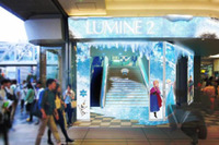 ルミネのクリスマスは「アナと雪の女王」、11/11スタート 画像