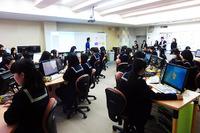 日本マイクロソフトなど、プログラムを自分で書く楽しさを女子中高生に伝授 画像