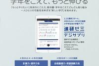 ベネッセ、iPad専用の学習アプリ「進研ゼミ デジサプリ」を3月下旬より開始 画像