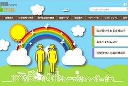 子どもの未来応援サイト開設…支援情報の検索や寄付機能あり