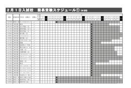 【中学受験2016】四谷大塚、入試直前の注意点と入試日程一覧公開