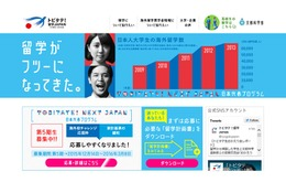 トビタテ!留学JAPAN合格者発表、最多は3期連続で東大27人
