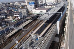 小中生親子向け、高石市内で高架橋の線路を歩く…南海電鉄 画像