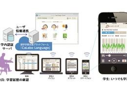チエルがスマホ対応の語学学習支援プラットフォーム発売