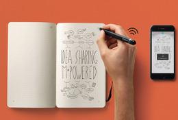 未来のノート!? 手書きのデータを瞬時にデジタル化