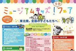 ワークショップや実験ショー「ミュージアムキッズフェア」仙台6/25・26