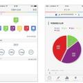 「学習記録生徒向けアプリ」入力・確認画面イメージ
