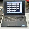 先生側のパソコン。専用ソフト上では、マウスの簡単操作で表示が変えられる
