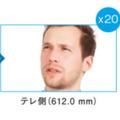ワイド、20倍ズーム、30倍ズーム時の映像イメージ。本機1台で自在な撮影が可能となる(画像はプレスリリースより)