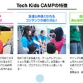 Tech Kids CAMPの特徴
