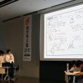 「数学甲子園2015」本選決勝ステージのようす