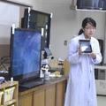 生徒たちに説明を行う、内田洋行の細川妃沙未氏
