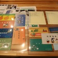 NEE2015展示ブースで展示されていた全国の「読書通帳」