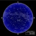 2015年11月中旬20時ごろの東京の星空 (c) 国立天文台 天文情報センター