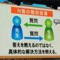 "N塾の""子""別指導"