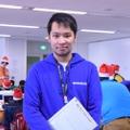 Tech Kids CAMP Christmas代表の上野朝大氏。