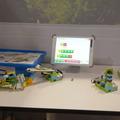 レゴロボットと学習アプリ