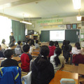 オリンピック・パラリンピックを題材にした授業が行われた八王子市立横山第二小学校