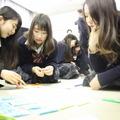 大阪府立北摂つばさ高校での実施風景