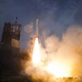 イプシロンロケット試験機打ち上げの様子