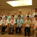 【写真1】国際科学オリンピックに参加した代表生徒と指導担当者(メンター)