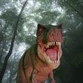 メーンイベントは恐竜のウォーキングショー