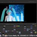 「HATSUNE MIKU×TETSUYA NOMURA」より (c) SQUARE ENIX CO., LTD./Crypton Future Media, INC. DESIGNED BY TETSUYA NOMURA