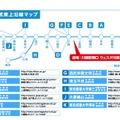 参加校東武東上沿線マップ