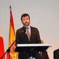 スペイン大使館のカルロス・マルドナド臨時代理大使
