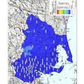 愛知県内の地表面から1m高さの空間線量率
