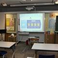 模擬教室の風景