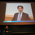 ビデオで様々な意見を述べた衆議院議員 石井登志郎氏